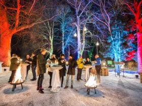 meinelocation.at Weihnachtsfeier – Weihnachtsfeier mit Funken und Farben im Seminar- und Eventhotel Krainerhütte © Krainerhütte