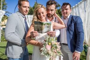 """Bildtext""""Hochzeitsbooklet"""""""