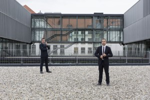 v.l.n.r. Ein starkes Team Dominik Scherz (CEO) und Lukas Hasenauer. Bildnachweis: © Hannes Polt / meinelocation.at