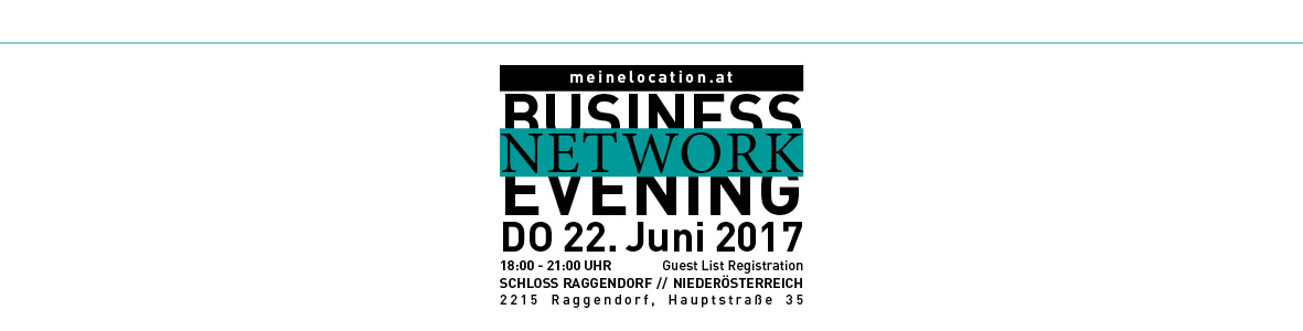 Business Network Evening meinelocation.at 2017