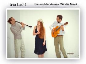 Band fuer Trauung und Agape trio trio