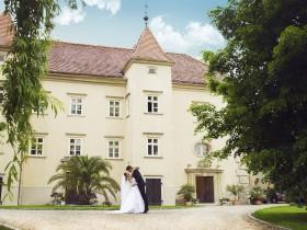 Brautpaar Schlosspark Schlossgurhof