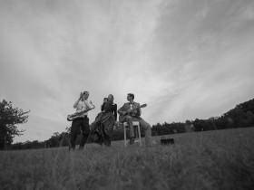 Musik Hochzeit in der Natur