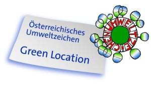 Green Location Umweltzeichen