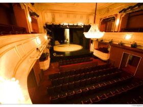 Landestheater Niederösterreich Balkon Großes Haus © Lukas Beck