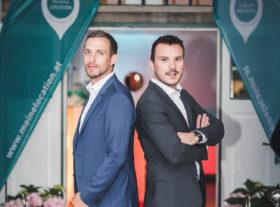 meinelocation.at – CEO-Duo von meinelocation.at Lukas Hasenauer & Dominik Scherz; Bildnachweis: © vonMICHALEK Photography